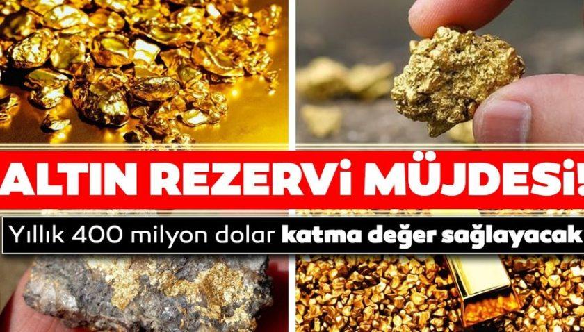 Son dakika haberi: Erzurum'a altın rezervi müjdesi: Yıllık 400 milyon dolar katma değer sağlayacak!