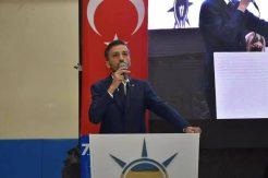 Yasin Kuzucu yeniden Ak Parti İlçe Başkanı