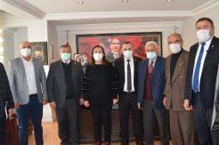 Başkan ÖZYOL'a Ziyaret Gümüşhacıköy Belediye Başkanı Zehra Özyol'a …