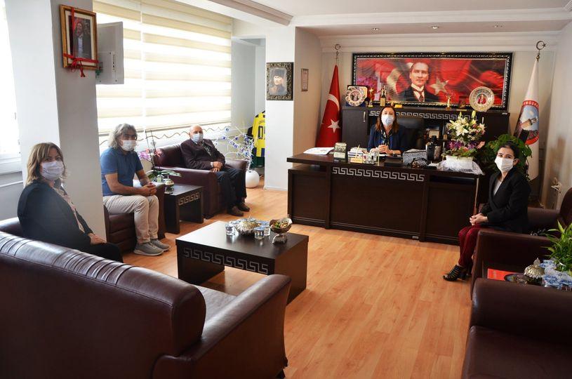 Atatürkçü Düşünce Derneğinden Başkan'a Ziyaret
