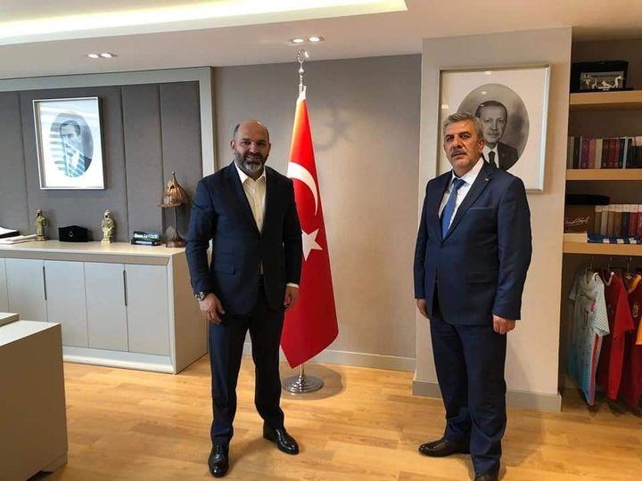 Belediye Başkanı Fatih BAYRAKDAR , Ankara temasları kapsamında Gençl…