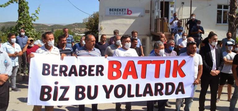 Amasya'da kredi borçlarını ödeyemeyen çiftçilerin traktörleri haczedildi!