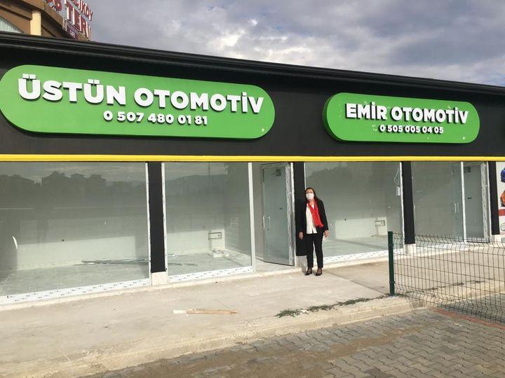 Galericiler Sitesi Hizmete Girdi İlçemiz Belediye Başkanı Zehra Özy…