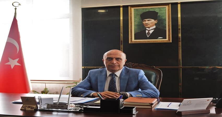 """Genel Sekreter Erdin Acar'ın """"29 Ekim Cumhuriyet Bayramı"""" kutlama me…"""