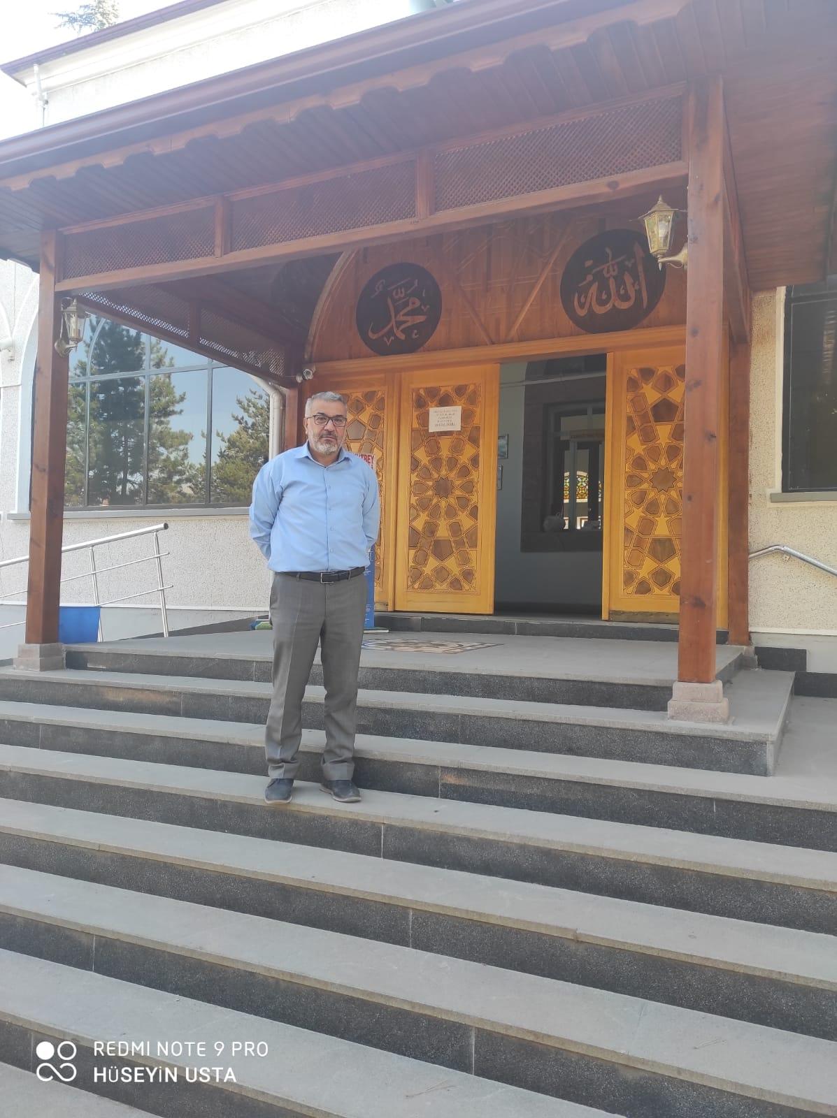 İlçemiz Merkez Arkutbey Camii İmam-Hatibi Ali BALCI'nın Merzifon İlç…