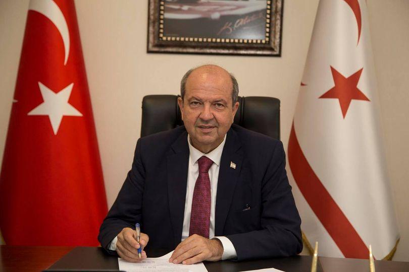 Kuzey Kıbrıs Türk Cumhuriyeti'nde yapılan seçimlerde Cumhurbaşkanı s…