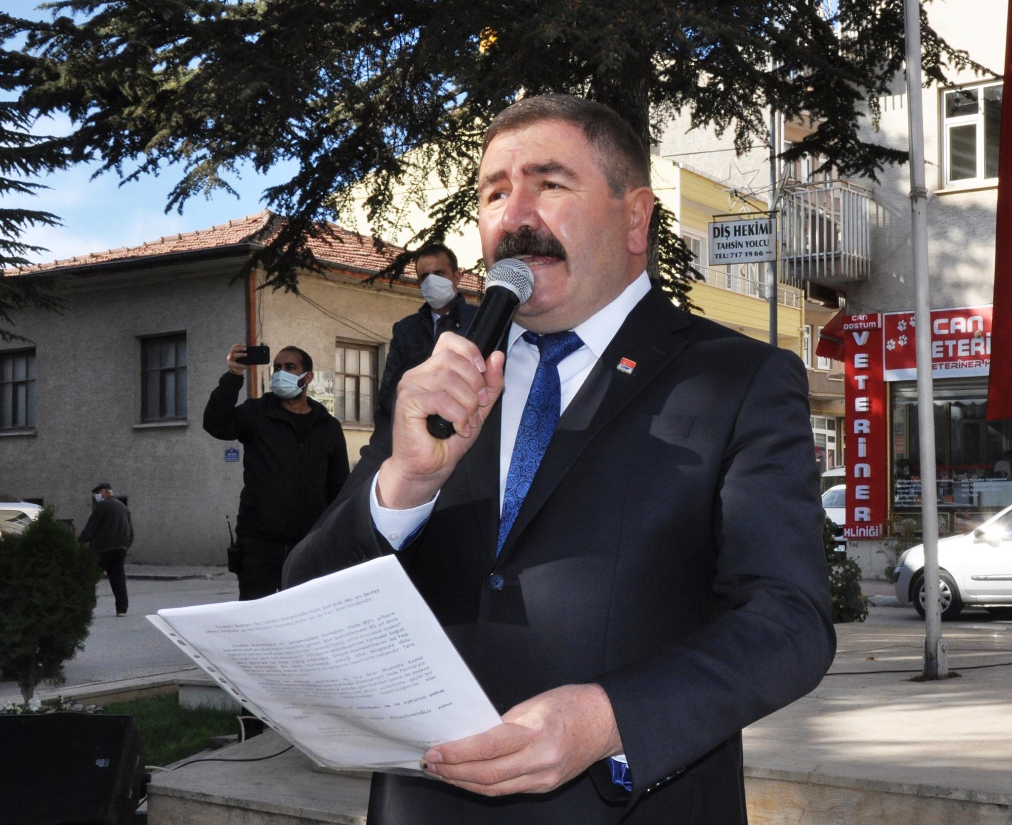 Topal'dan 'Alaattin Çakıcı'ya Sert Tepki Cumhuriyet Halk Partisi (C…